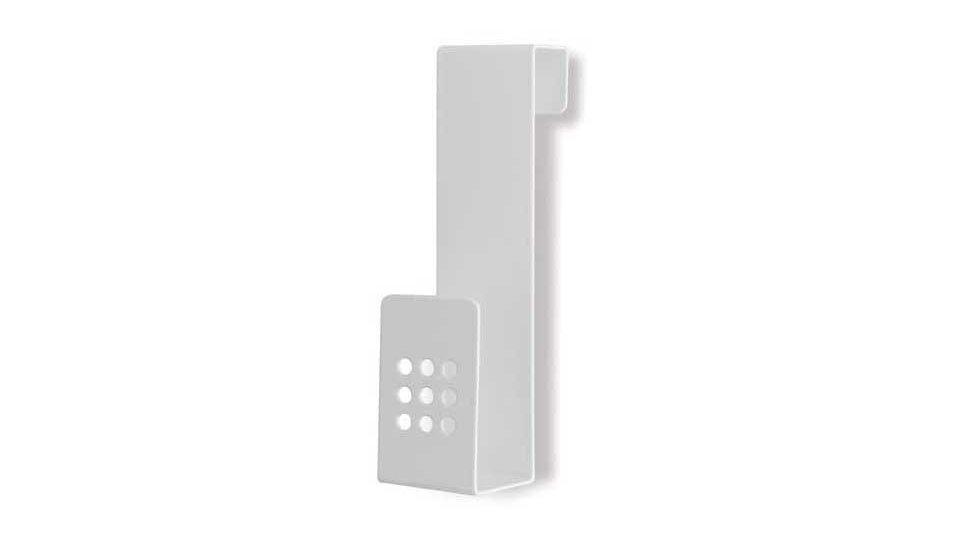 Türgarderobe Hann-Münden, Modern Zinkdruckguß pulverbeschichtet - Reinweiß | 129x35x30