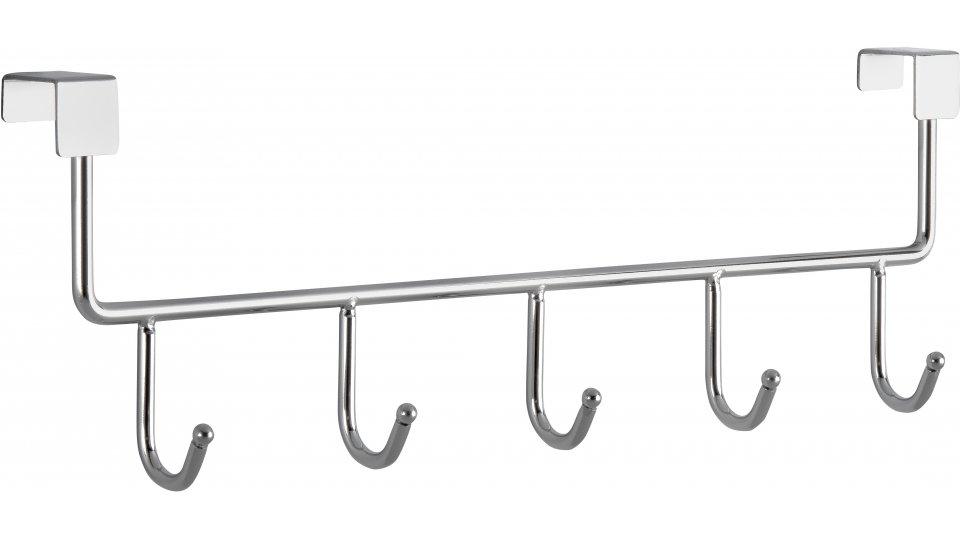 Türgarderobe Iggelheim, Schlicht Zinkdruckguß - Chrom glänzend   355x110x51 LA:344