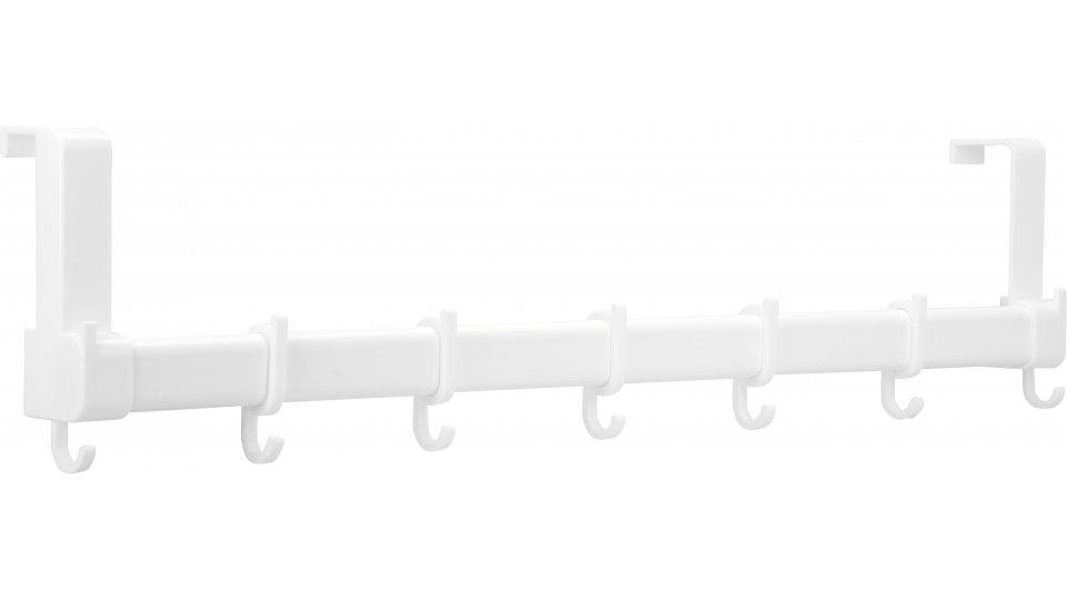 Türgarderobe Kaufungen, Schlicht Kunststoff - Weiß | 590x136x58