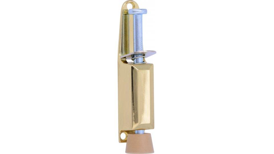 Türstopper Wipperfürth, Design, Zinkdruckguß - Glänzend vermessingt