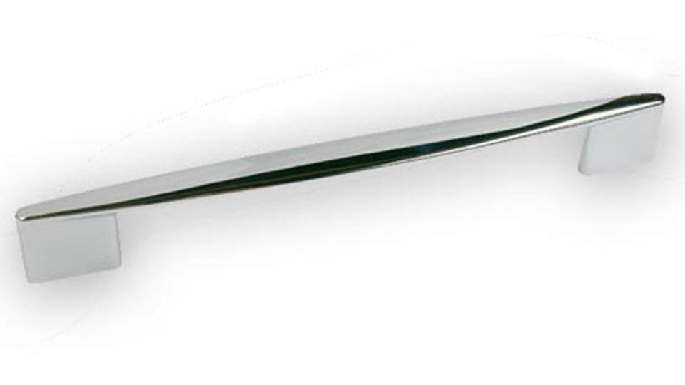 Möbelgriff Parchim Modern Zinkdruckguß Chrom Glänzend